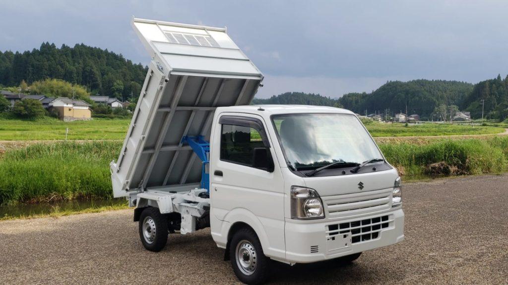 New 2019 Suzuki Carry Hd Dump Truck 4x4 Mini Trucks Ohio